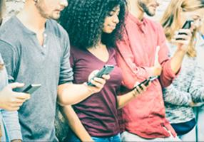 Solo un tercio de los adolescentes hace un uso adecuado de la red.